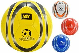 1x PU Leather Stitched Football Soccer Ball 32 Panel Size 5 Summer Garden Toy