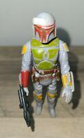 """Star Wars Vintage Kenner 3.75"""" Boba Fett 1979 complete ORIGINAL WEAPON Hong Kong"""