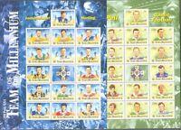 Ireland 1999 & 2000 Football min sheets( set of 2)