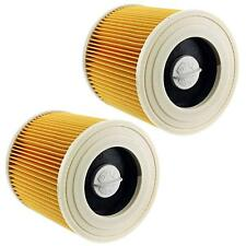 2x Cartridge Filter Fit for Karcher Wet &Dry Vacuum Hoover Cleaners A2004 A2054