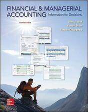 Financial and Managerial Accounting: Information for Decisions by Wild, John J,