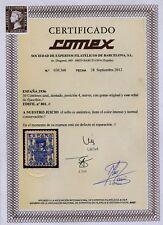 España / 1er Centenario 1901-49 1936 00801 * Granada Bonito sello / Certificado