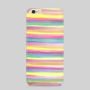 Multicoloured Waves Stripes Phone Case Cover