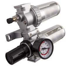G12 In Air Compressor Filter Oil Water Separator Trap Tools With Regulator Gauge