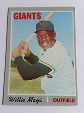 1970 Topps #600 Willie Mays