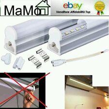 Plafoniera sottopensile led t5 altissima qualità 30 60 90 120 cm neon led