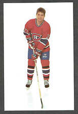 1990-91 Montreal Canadiens Team-Issued Shayne Corson Card