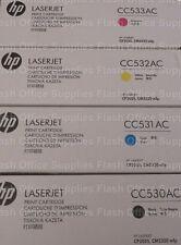 Genuine HP 304A Toner Set CC530A CC531A CC532A CC533A VAT INC SAMEDAY_POST