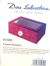 Don Salvatore Catania Glass Top Cigar Humidor 50 Count    Don Antonio Collection