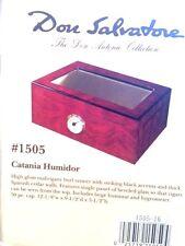 Don Salvatore Catania Glass Top Cigar Humidor 50 Count    Don Antonio Collection