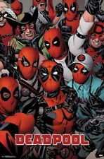 DEADPOOL - FACES COMIC POSTER - 22x34 - MARVEL 16468