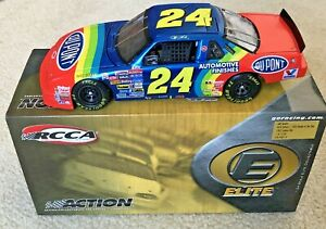 #24 JEFF GORDON DUPONT 1993 ROOKIE OF THE YEAR LUMINA 2005 RCCA 1/24 ELITE NEW