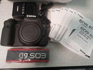Canon EOS 6D 20,2 Mpix Appareil Photo Reflex Numérique - Noir (Boîtier Nu)