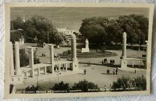 STALIN MONUMENT BULGARIA VARNA 1950 POSTCARD