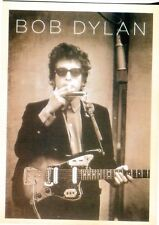 POSTCARD FROM AN OLD PICTURE OF BOB DYLAN IN HIS EARLY YEARS