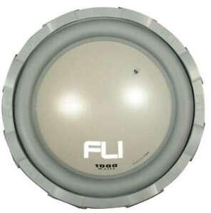 "FLI - FLI Frequency 12, 12"" Subwoofer 1000 Watts, 300 Watts RMS, Last One"