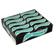 Wrigleys Airwaves Black Mint Zuckerfrei Kaugummi 30 Pakungen