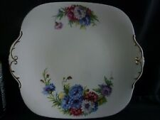 Vintage Windsor Bone China Sandwich or Cake Plate in Harvest Glory