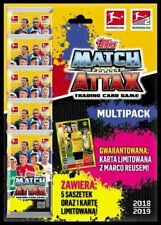 TOPPS BUNDESLIGA 2018 2019 MULTIPACK 5 + 1 LIMITED REUS PACK New