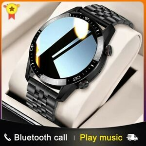 2021 Smartwatch for men Bluetooth Sport Heart Rate Monitoring Call Music Control