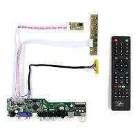 "TV HDMI VGA AV USB AUDIO LCD Controller Board For 12"" HSD121PHW1 1366X768 LCD"