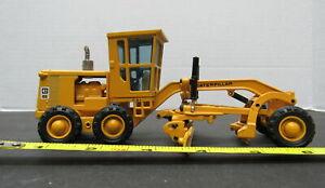 Vintage JOAL No.217 CAT Caterpillar 12G Road Grader 1/50 Die Cast Model