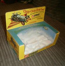Empty Box Corgi Toys 266 Chitty Chitty Bang Bang with Plastic Cloud Insert