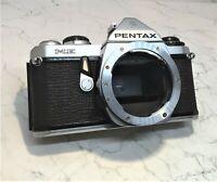 ASAHI PENTAX ME Vintage 35mm Electronic SLR Film Camera Circa Late 1970's