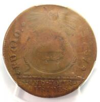 1787 Fugio Cent 1C Coin (1 over 1 Variety, 1/1) - PCGS XF40 - $7,500 Value