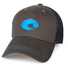 77e84ae488050 Costa Del Mar Neon Trucker Graphite Twill Hat