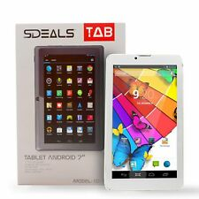 "Sdeals Tab Phone & Tablet 3G Android 7"", 8gb Memory, Google Play Pre-loaded, G.."