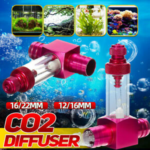 12mm 16mm CO2 Atomizer System Diffuser Fish Tank External Aquarium Plant