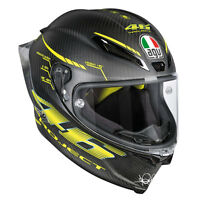 CASCO INTEGRALE AGV PISTA GP R - TOP - PROJECT 46 2.0 CARBON MATT TAGLIA M/L