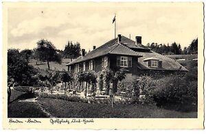 BADEN-BADEN Golfplatz Club-Haus / Golf * Foto-AK um 1935 / BENZ Gaggnau Stempel