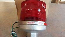 "Whelen SHD-120R  120VAC  Red Strobe Beacon ""Marine Grade""   New"