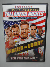 Talladega Nights The Ballad of Ricky Bobby DVD 2006 Unrated Edition Widescreen