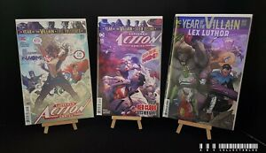 DC Superman Action Comics Issues 1015-1017 (2016) Bagged & Boarded