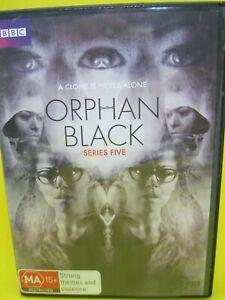 ORPHAN BLACK DVD (REG 4) 2017 SERIES FIVE 5 - TATIANA MASLANY