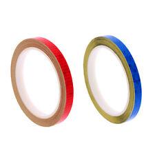 2x Bike Bicycle Wheel Rim Reflective Sticker Fluorescent Safety Tapes Decals