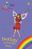 Destiny the Pop Star Fairy (Rainbow Magic) by Daisy Meadows, Good Used Book (Pap