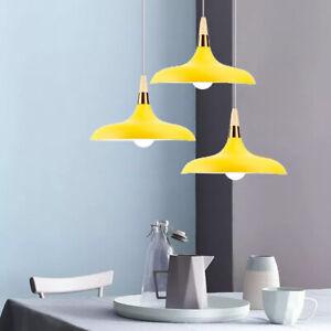 Modern Pendant Light Kitchen Ceiling Light Bar Lamp Yellow Chandelier Lighting