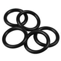 5 pieces 35mm x 5mm rubber O ring oil seal sealing washer black E1B9