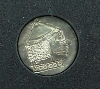 ".HOBO NICKEL with NO DATE ""CLOWN / TIN MAN?"" UNSIGNED. #13"