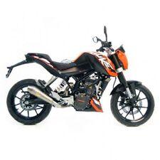 8566 silencieux d'échappement LEOVINCE GP STYLE KTM 125 DUKE IE 2011 2012