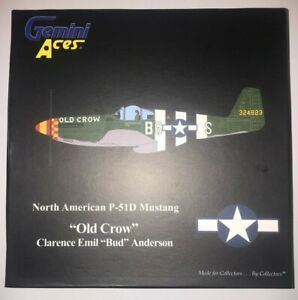 Gemini Jets USAAF P-51 Mustang - Old Crow - GAUSA2FM2  - 1/72