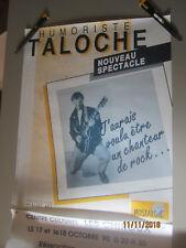 taloche- affiche anné 90
