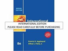 International Economics by Alfred Field, Cobb and Dennis Appleyard