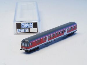 87181 Marklin Z-scale 2nd Class Regionalbahn Passenger Car Control Cab with LED