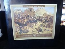 CONTE SCOTLAND THE BRAVE PLAYSET #1 NW FRONTIER HIGHLANDERS AFGHANS BUILDINGS