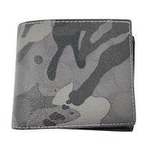 Coach - 3-in-1 Wallet in Signature Ink Camouflage (Grey Multi) F88270 NWT